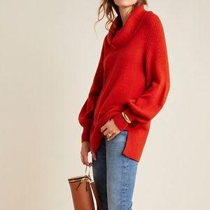 Anthropologie Paloma Knit Tunic Sweater